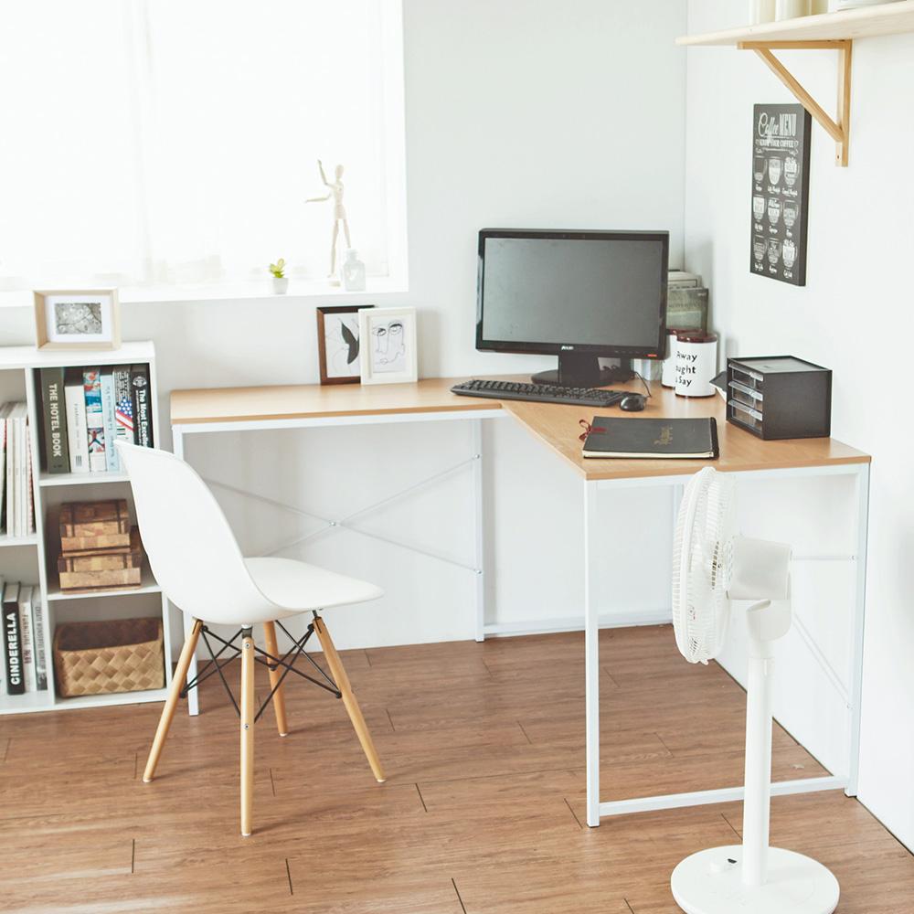 完美主義 L型工作桌/電腦桌/書桌/辦公桌(2色)-120x60x75 product image 1