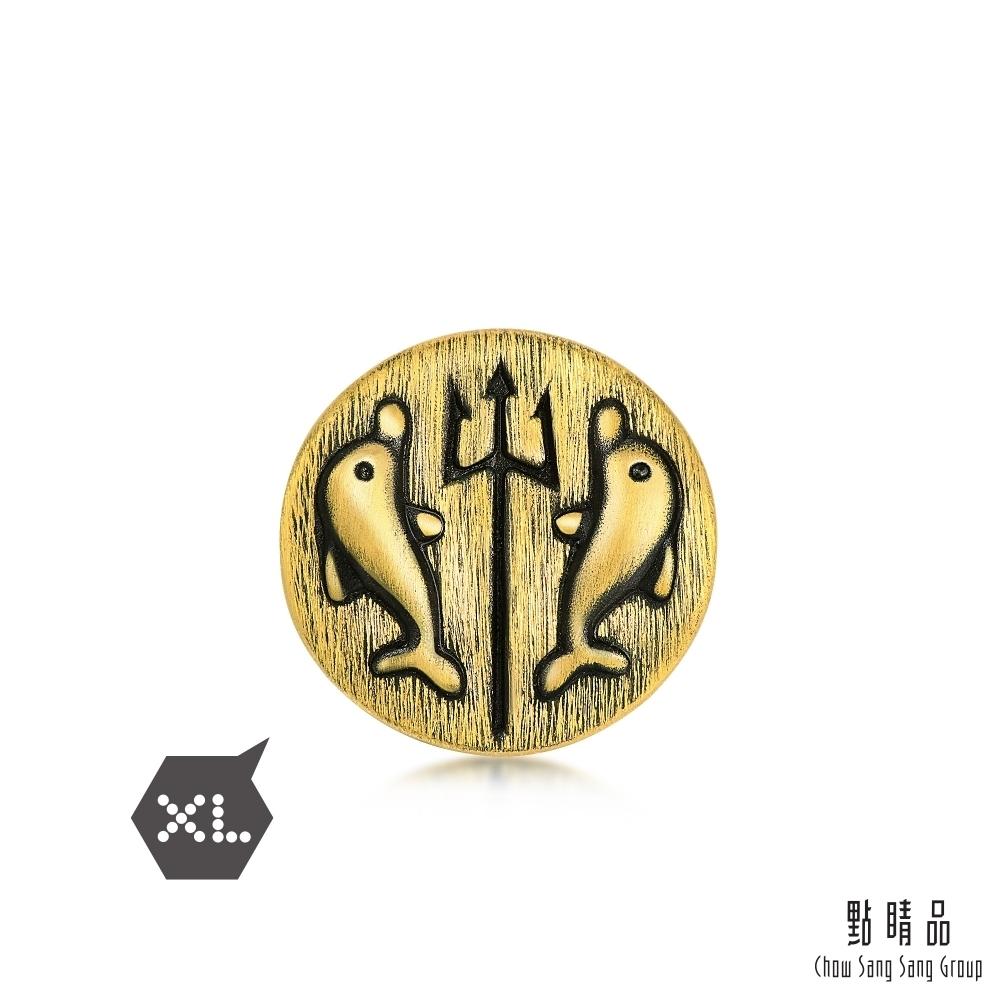 點睛品 Charme XL 三叉戟 黃金串珠
