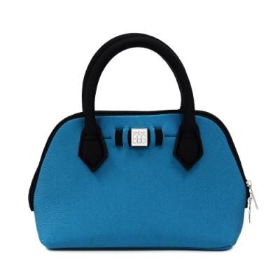 SAVE MY BAG 義大利品牌 PRINCESS MINI 金屬孔雀藍超輕量迷你手提包