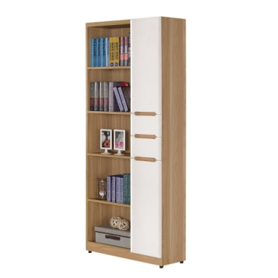 MUNA 露西2.7尺書櫃 80X32X197cm