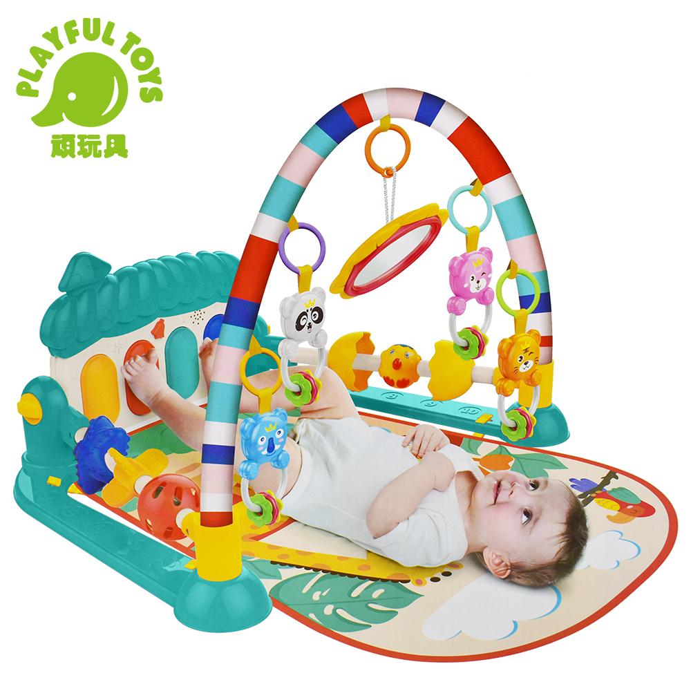 Playful Toys 頑玩具 蘑菇腳踏琴健身架