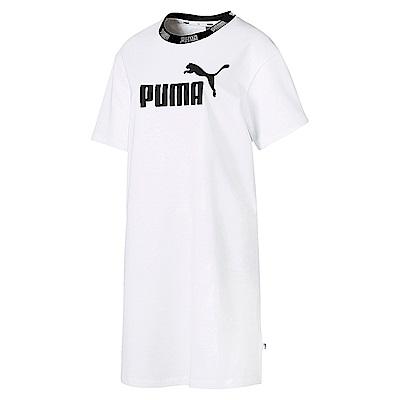PUMA-女性基本系列Amplified連身裙-白色-亞規