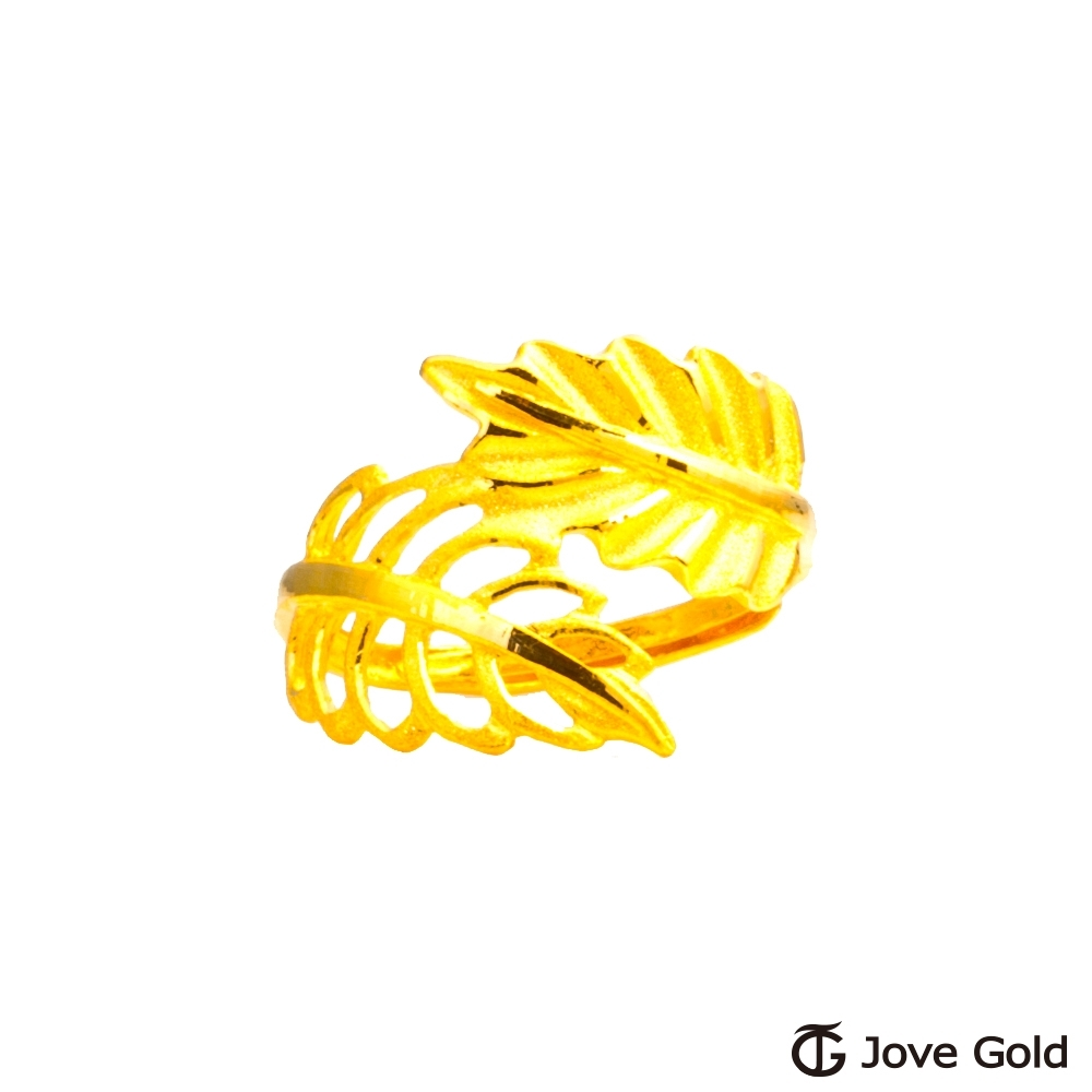 Jove Gold 漾金飾 金枝玉葉黃金戒指