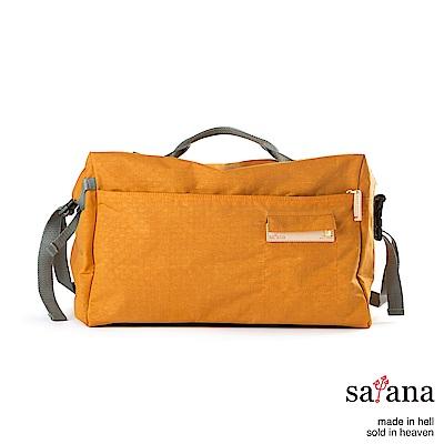 satana - Soldier 運動風旅行袋- 黃玉色