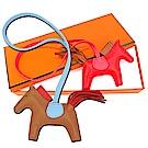 HERMES 小羊皮手工馬兒吊飾(小)均一價$26999