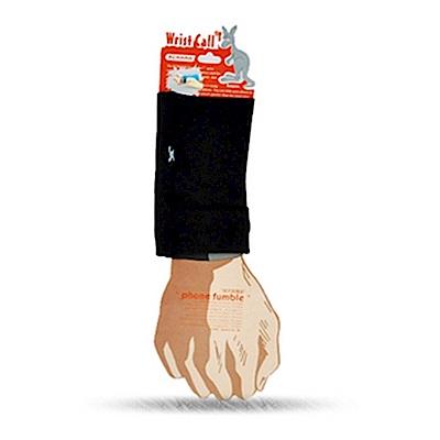 PCMAMA多用途運動手臂套手機套手腕袋手腕套Wrist Bag(黑,薄WC086;可放零錢紙鈔信用卡悠遊卡一卡通)