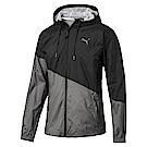 PUMA-男性訓練系列A.C.E.撞色風衣外套-瀝青灰-歐規