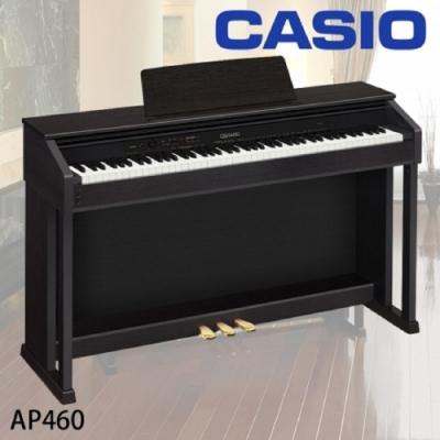 CASIO AP460/88鍵數位鋼琴/公司貨保固/黑色