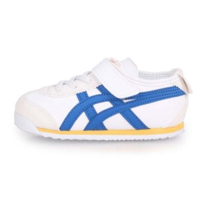 ASICS 小童運動鞋 MEXICO 66 TS 白白藍黃