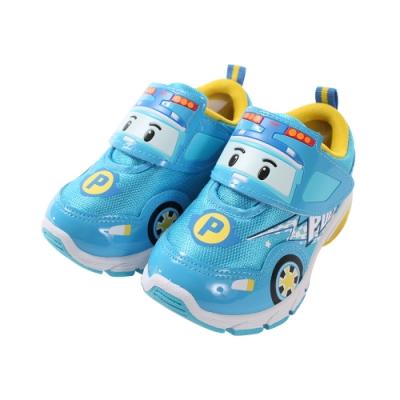 男童台灣製POLI波力款閃燈運動鞋 sa91226 魔法Baby