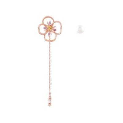 NOONOO FINGER PANSY 耳環