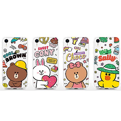 GARMMA LINE FRIENDS iPhone X/XS 防摔保護軟殼