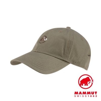 【Mammut】Baseball Cap 經典棒球帽 橄欖綠 #1191-00051