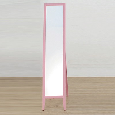 AS 肯恩直立式實木立鏡31x44x140cm(兩色可選)