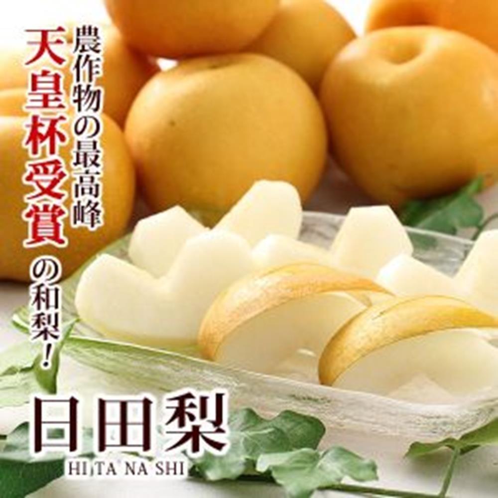 【天天果園】日本原裝大分縣日田梨5kg(約5-7顆)