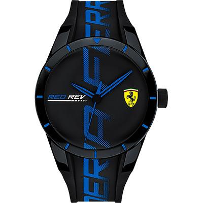 Scuderia Ferrari 法拉利 Red Red 手錶-藍/43mm