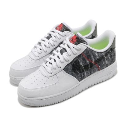 Nike 休閒鞋 Air Force 1 07 運動 男鞋 基本款 簡約 舒適 皮革 質感 穿搭 白 黑 CV1698100