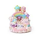 Sanrio 雙星仙子桌上型萬年曆(彩虹玩具盒)