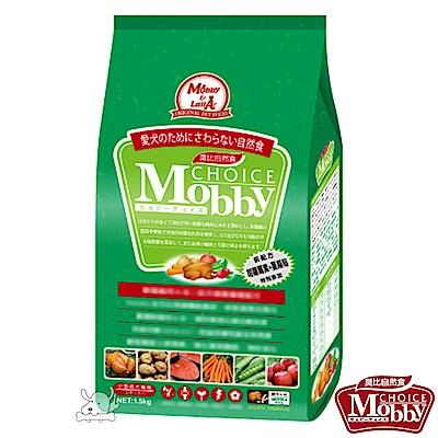 Mobby 莫比 雞肉+米 小型成犬配方飼料 1.5公斤 X 1包