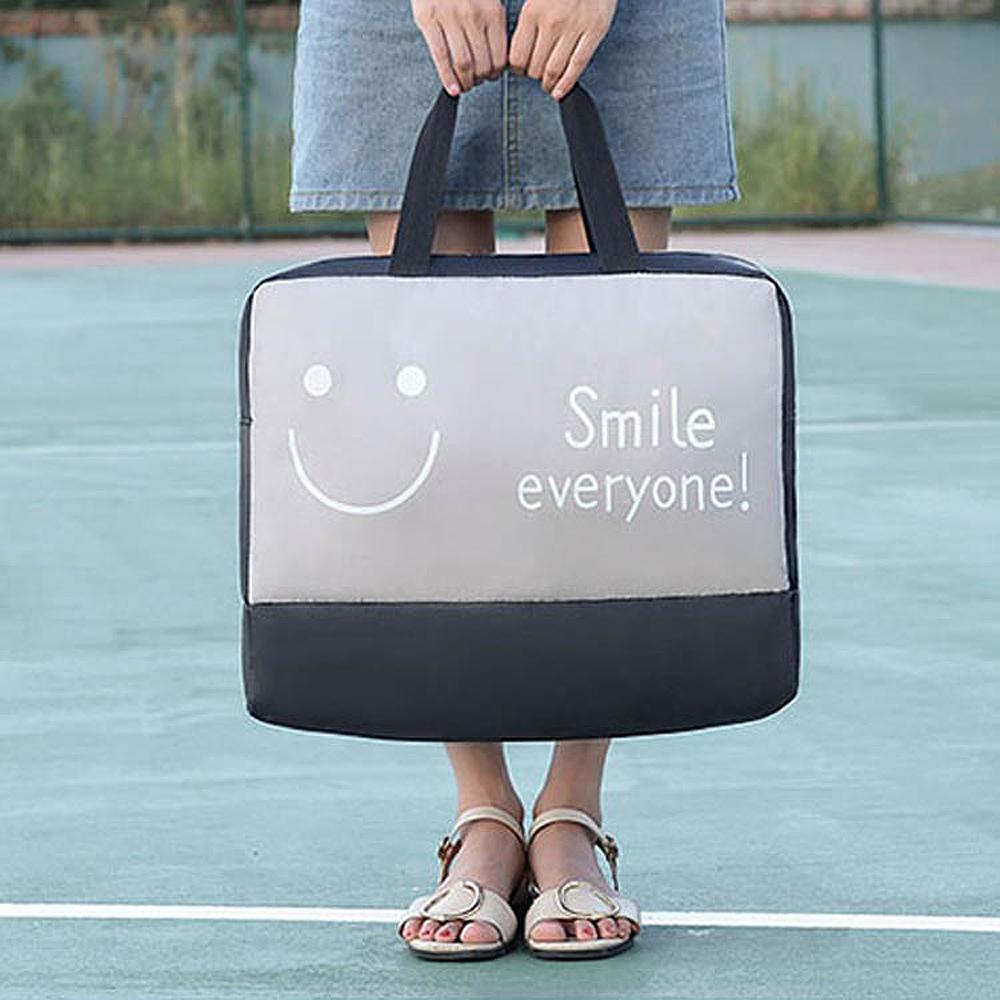 E.City_升級款大容量可折疊旅行拉桿乾濕分離包