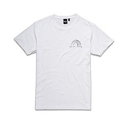 Deus Ex Machina 輪胎白T恤