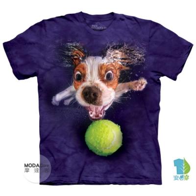 摩達客-美國The Mountain 水中騎士查理王小獵犬 兒童版純棉環保短袖T恤
