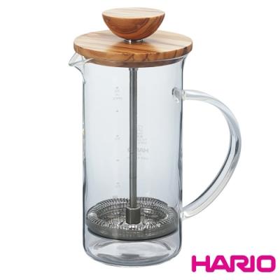 HARIO 自然風濾壓茶壺300ml / THW-<b>2</b>-OV