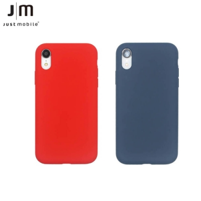 JUST MUST iPhone Xs Max 超纖矽膠保護殼