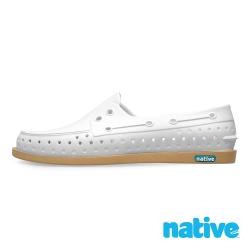 native HOWARD 男/女鞋-貝殼白x焦糖底