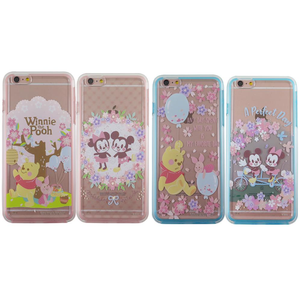 迪士尼二合一雙料保護殼套_櫻花季iPhone 6/6s(4.7吋)