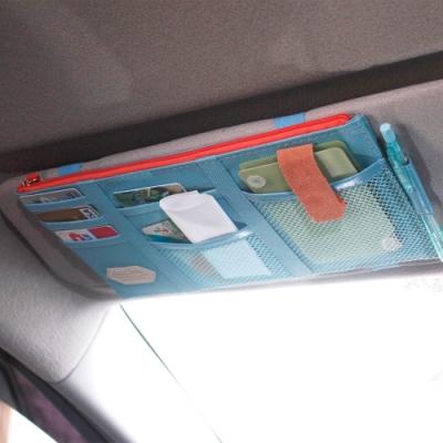 E.City_車用多功能遮陽板收納袋