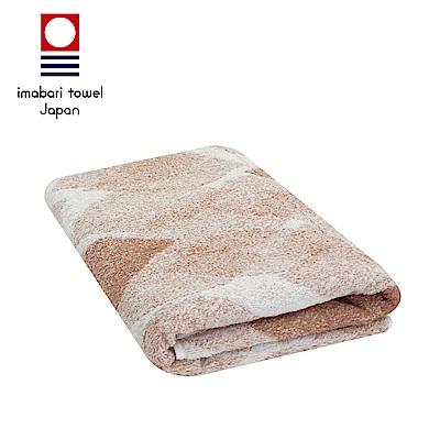 日本今治 純天然有機棉無染色浴巾(落葉-粉藕紅)