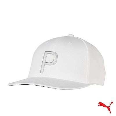 PUMA CAP 男運動帽 白 021448 04
