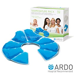【ARDO安朵】瑞士冷熱兩用乳房敷墊(1入/盒)