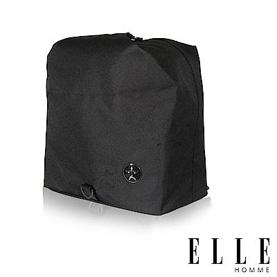 ELLE 巴黎輕旅休閒款側背小包- 黑色