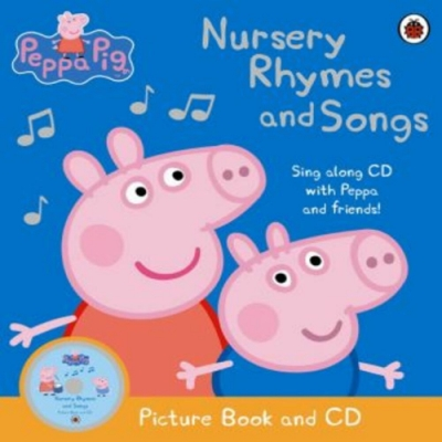 Peppa Pig:Nursery Rhymes And Songs 平裝書附CD
