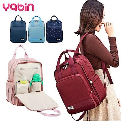 YABIN後背媽媽包時尚大容量雙肩包