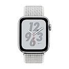 Apple Watch Nike+ S4(GPS)44mm 銀色鋁金屬錶殼+白色錶環