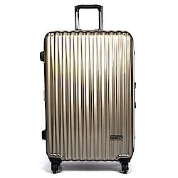 aaronation - 26吋KANGOL系列亮面質感行李箱-URA-KG1126
