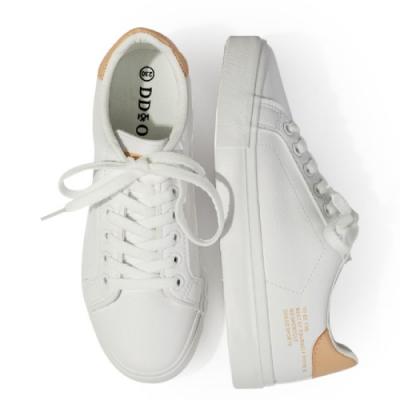 韓國KW美鞋館 時尚百搭造型素面平底鞋-粉