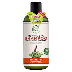 美國沛特斯 有機成份草本複方強健洗髮精(無矽靈-16oz/475ml)