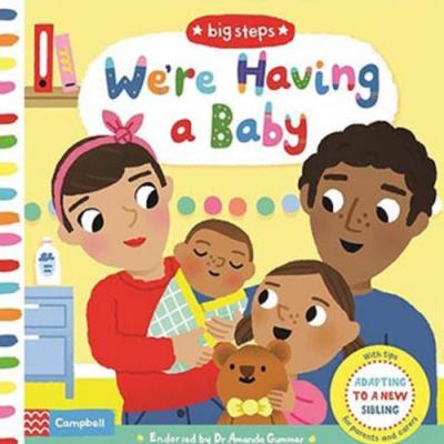 Big Steps:We re Having A Baby 生活練習:我要當哥哥姊姊操作書
