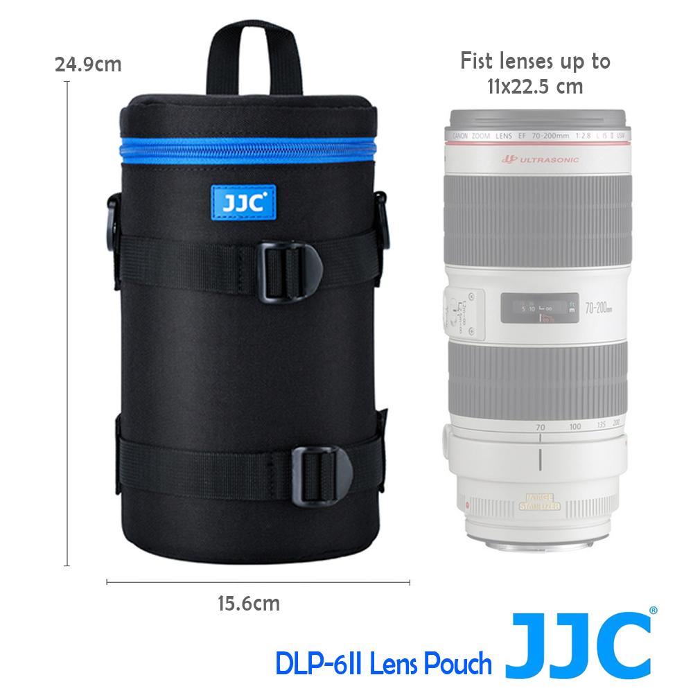 JJC DLP-6 二代 豪華便利鏡頭袋 110x225mm