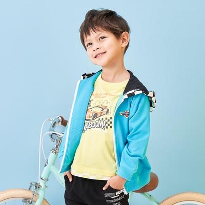 麗嬰房 【EASY輕鬆系列】 數位車手連帽外套 (76cm~130cm)
