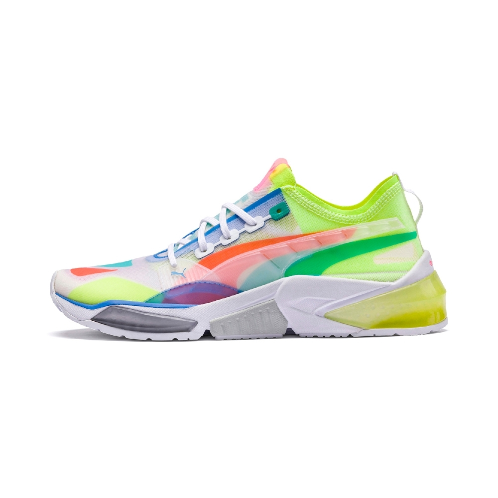 PUMA-LQDCELL Optic Sheer 男性慢跑運動鞋-白色