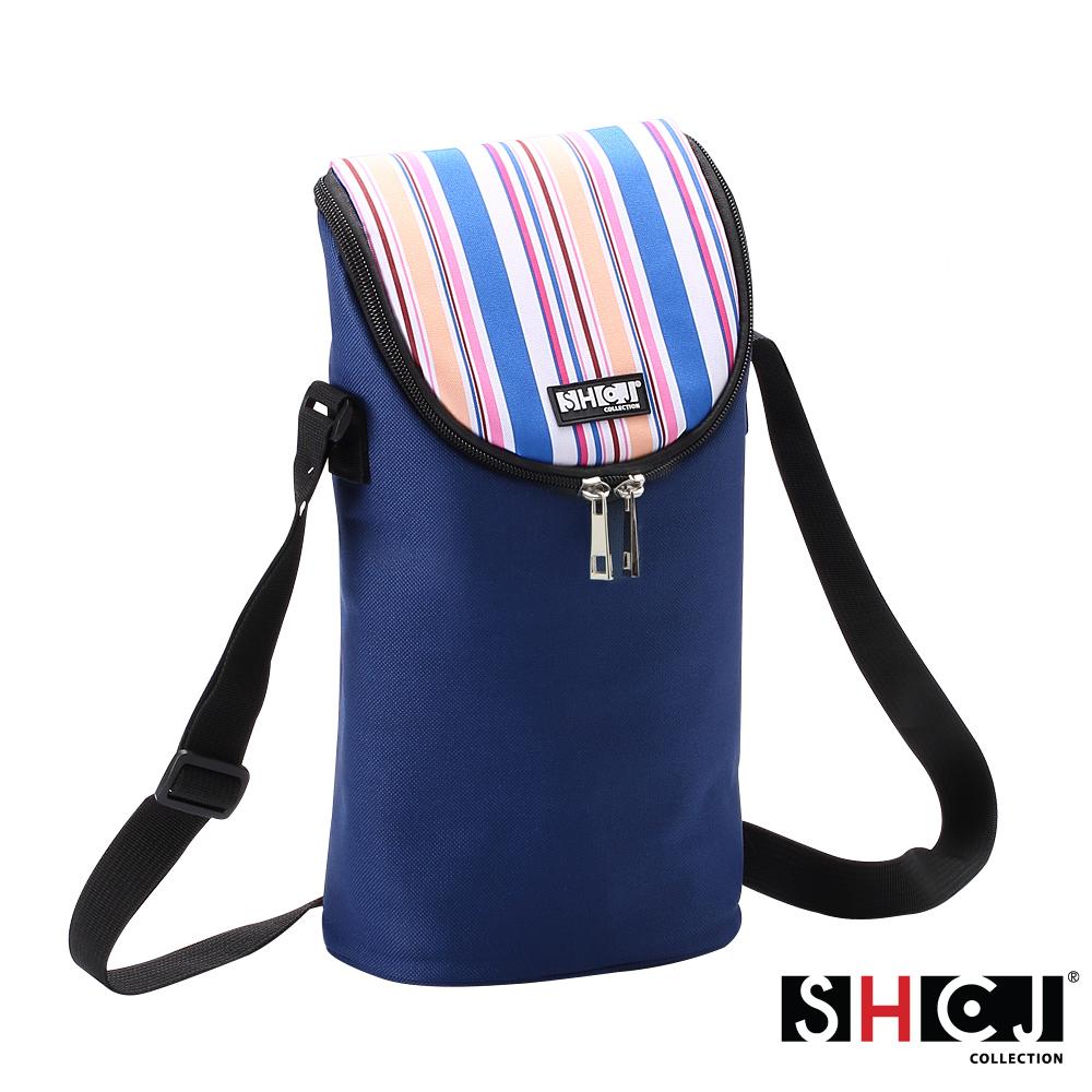 SHCJ生活采家戶外野營5L肩背手提紅酒保溫袋