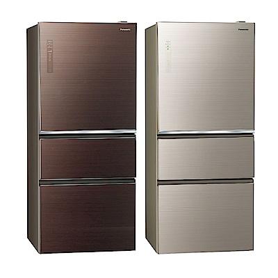 [無卡分期12期]Panasonic國際牌 三門 電冰箱 NR-C619NHGS