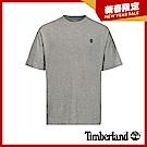 Timberland 男款中麻灰後背品牌LOGO短袖T恤 A1XPF