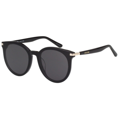VEDI VERO 圓框 太陽眼鏡(黑色)