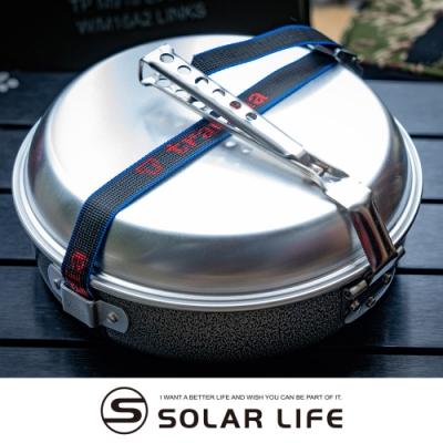 瑞典Trangia Camping Set 124-T 超輕鋁露營鍋具套裝.鋁合金套鍋 平底煎鍋湯鍋